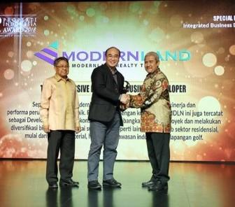 Modernland Realty Raih 3 Penghargaan