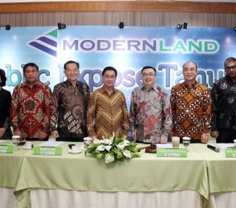 PT Modernland Realty Tbk. Hingga Semester I 2018  Raih Penjualan Rp2,50 Triliun